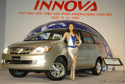 Toyota giới thiệu INNOVA hoàn toàn mới