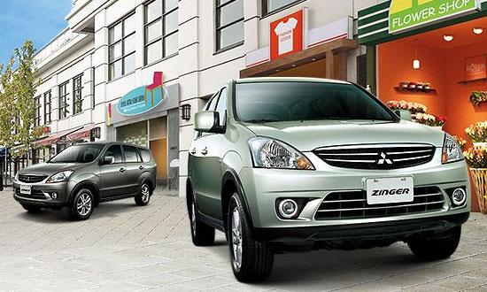 Mitsubishi Zinger - đối thủ của Inova
