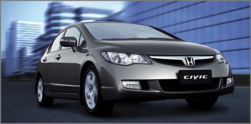 Mẫu xe Civic được nhiều người VN ưu chuộng