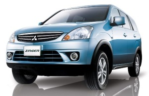 Mitsubishi Zinger - Đối thủ chính của Toyota Innova